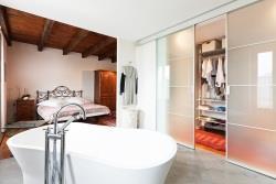 Open Plan Bedroombathroom Designs Building Renovation Lifestyle - Open plan bathroom and bedroom designs