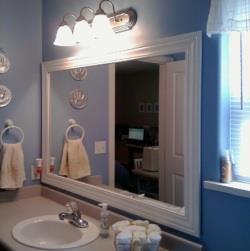 How To Transform A Bathroom Mirror Diy Lifestyle